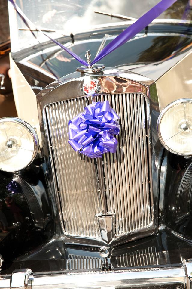 wedding car photograph
