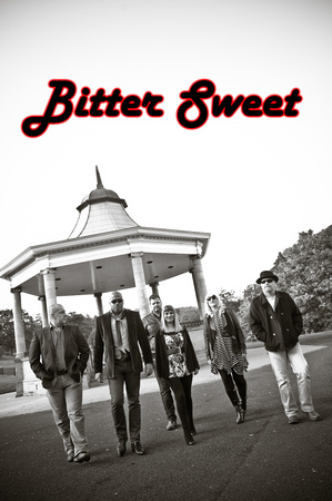 Bradford band Bittersweet photoshoot in West Yorkshire
