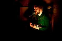 Thomas Matthew Bower performing at Harrisons Music Bar in Sheffield