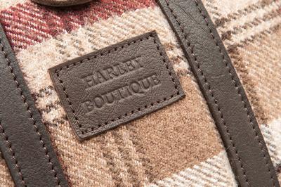 Commercial photograph. Harley Boutique designer bag.