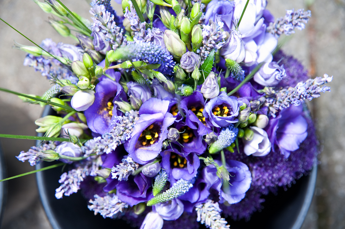 photography of wedding bouquet in rotherham