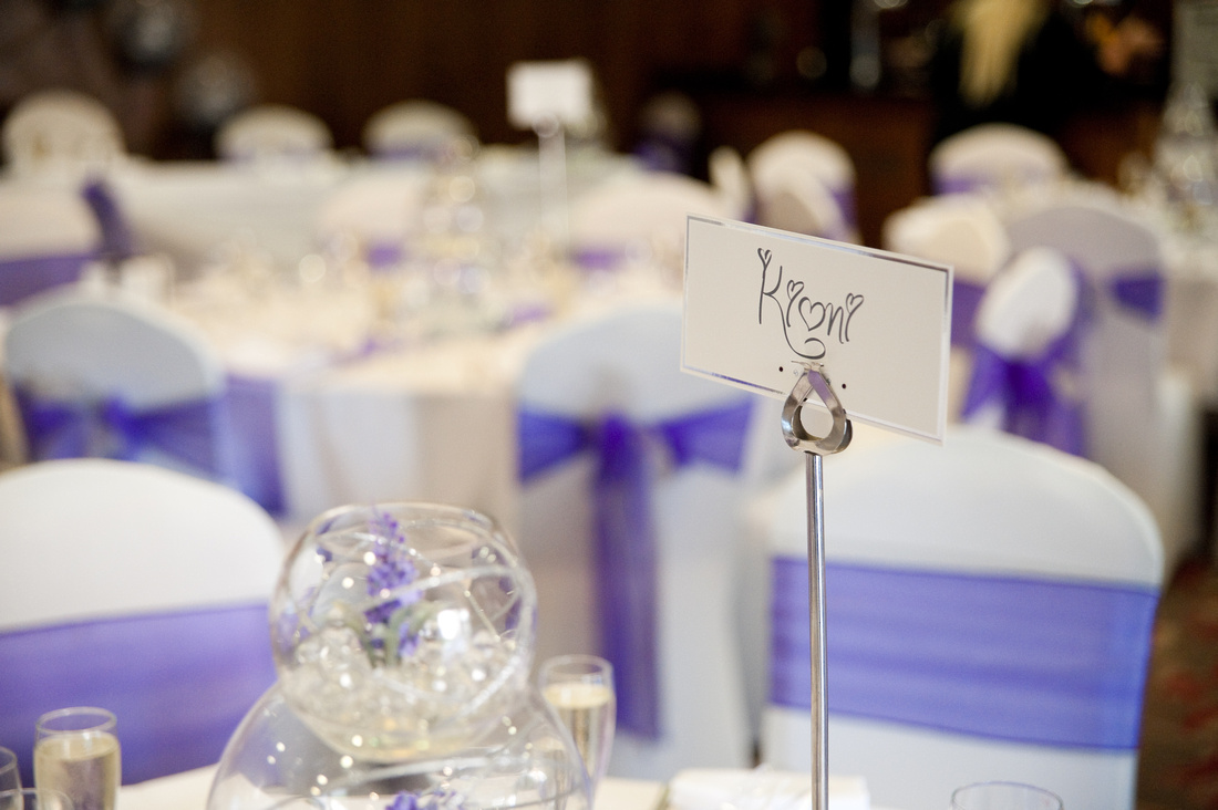 wedding reception at Hellaby Hall