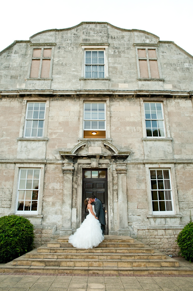 hellaby hall bride and groom photo