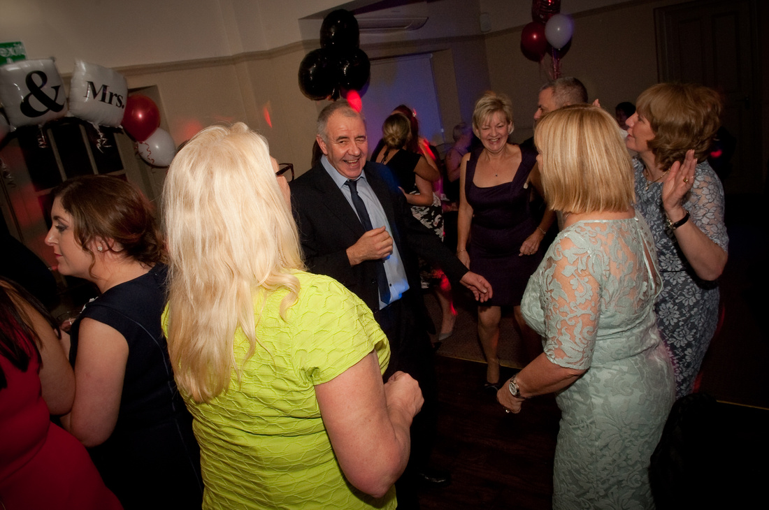 Rotherham wedding dancefloor