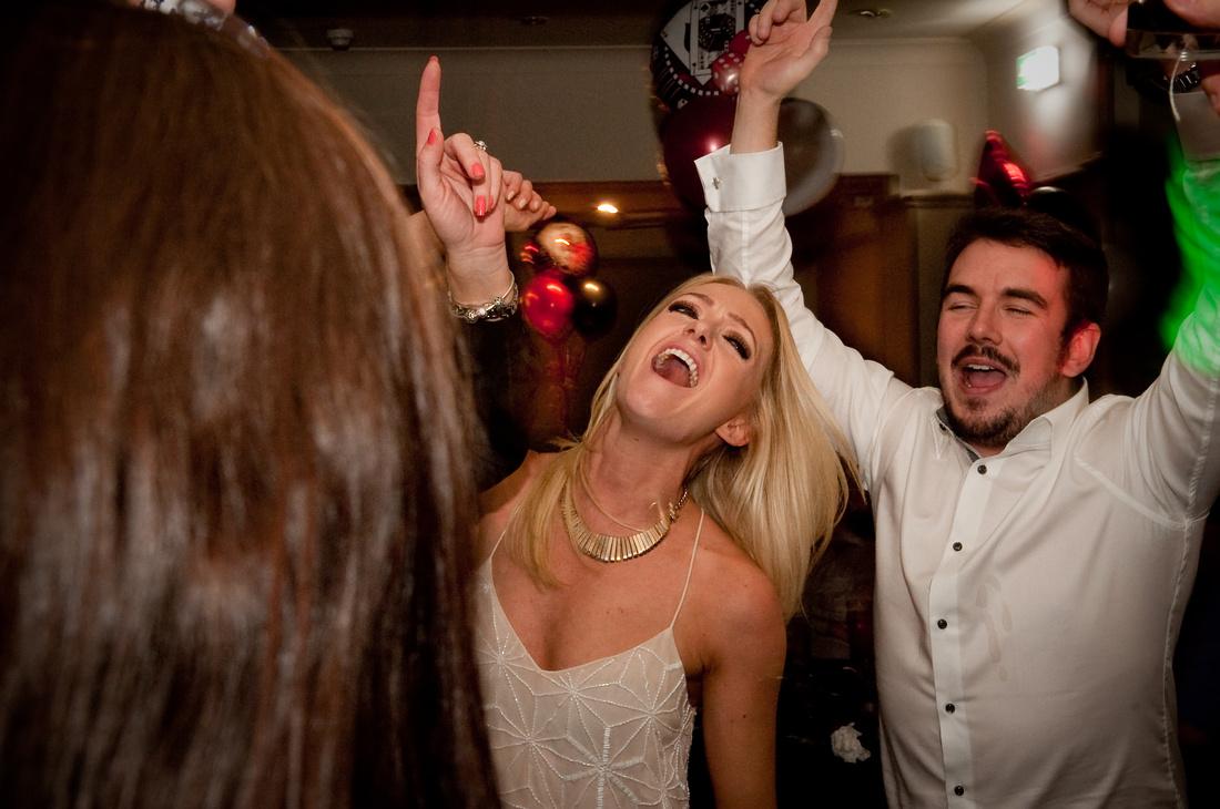 Wedding photographer dancefloor